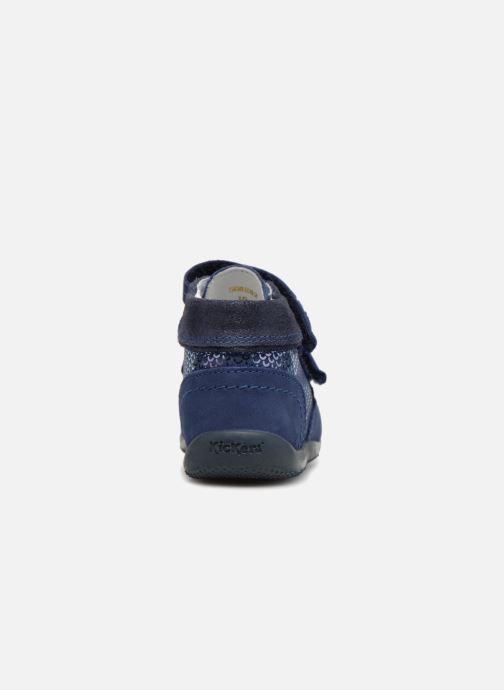 Bottines et boots Kickers Biliana Bleu vue droite