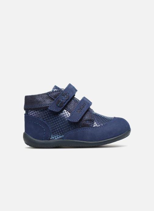 Bottines et boots Kickers Biliana Bleu vue derrière