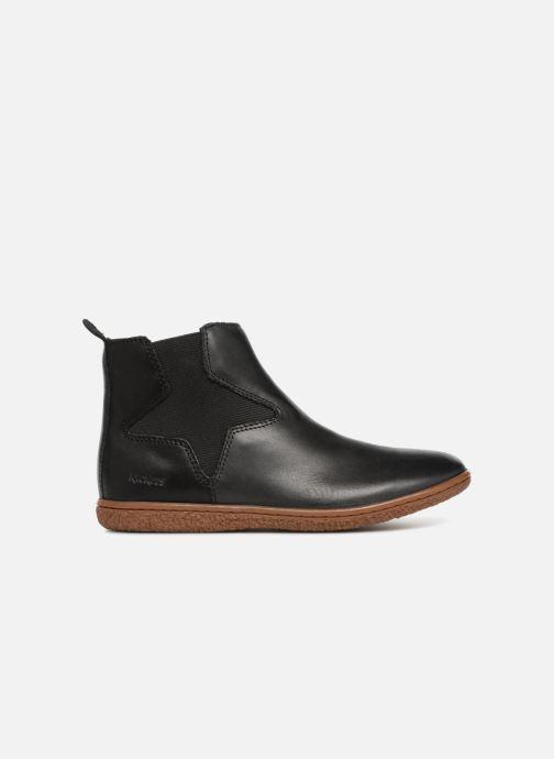 Bottines et boots Kickers Vermillon Noir vue derrière