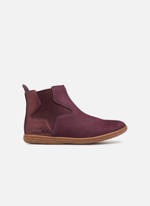 Bottines et boots Kickers Vermillon Bordeaux vue derrière