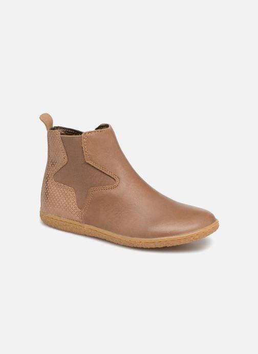 Bottines et boots Kickers Vermillon Beige vue détail/paire