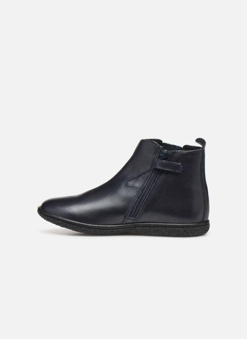 Boots en enkellaarsjes Kickers Vermillon Blauw voorkant
