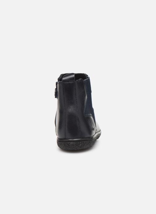 Boots en enkellaarsjes Kickers Vermillon Blauw rechts