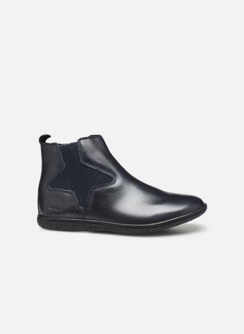 Boots en enkellaarsjes Kickers Vermillon Blauw achterkant