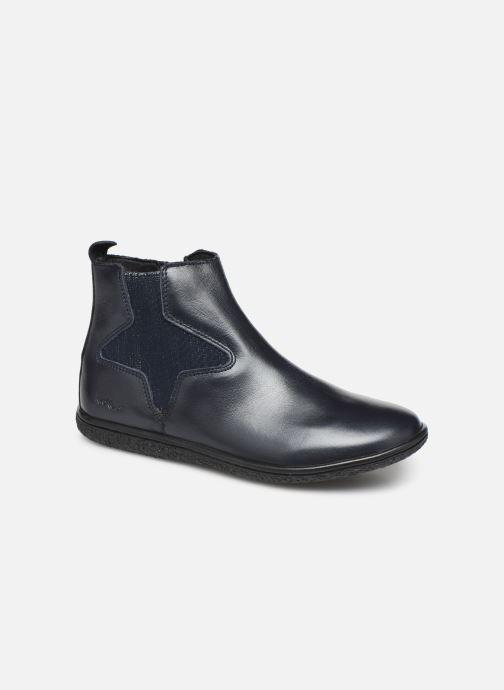 Boots en enkellaarsjes Kickers Vermillon Blauw detail