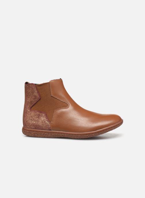 Boots en enkellaarsjes Kickers Vermillon Bruin achterkant