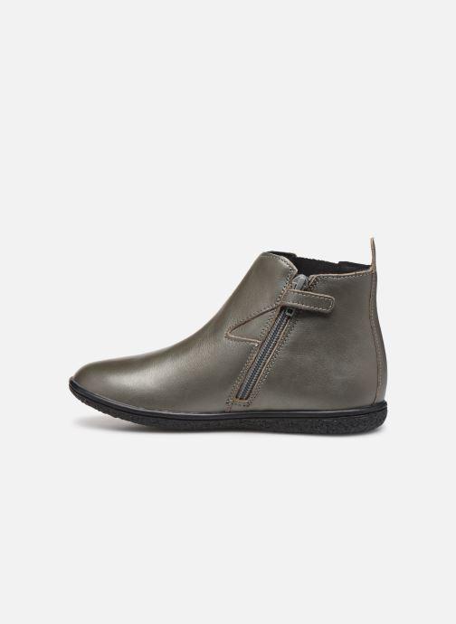 Boots en enkellaarsjes Kickers Vermillon Zilver voorkant