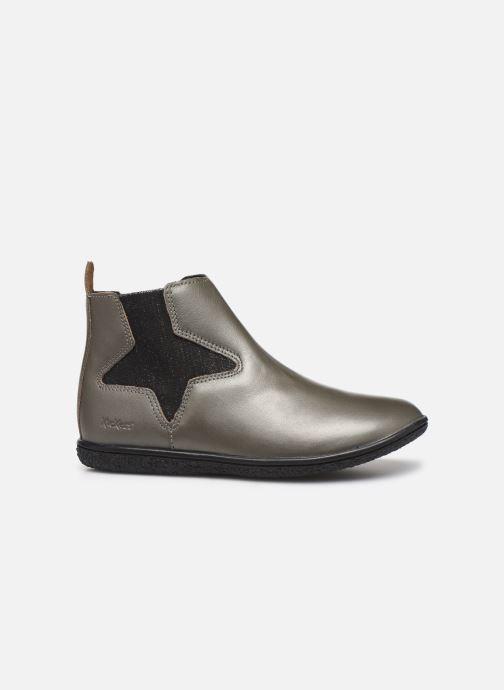 Boots en enkellaarsjes Kickers Vermillon Zilver achterkant