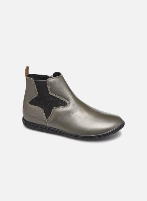 Boots en enkellaarsjes Kickers Vermillon Zilver detail