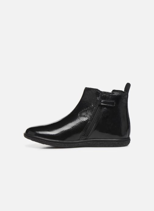 Bottines et boots Kickers Vermillon Noir vue face