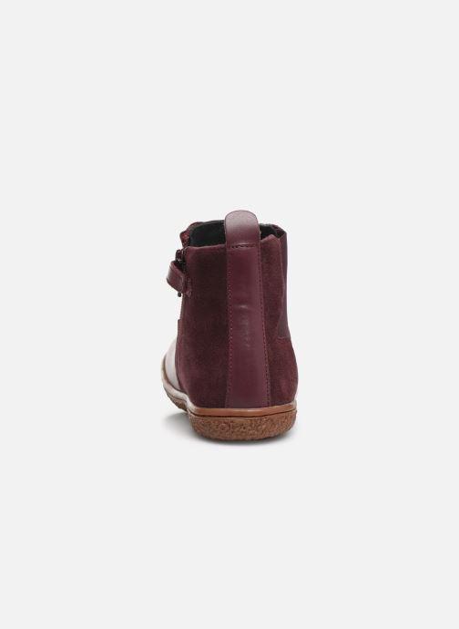 Boots en enkellaarsjes Kickers Vermillon Paars rechts