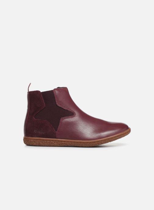 Boots en enkellaarsjes Kickers Vermillon Paars achterkant