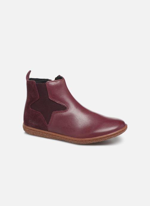 Boots en enkellaarsjes Kickers Vermillon Paars detail