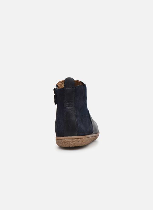 Stiefeletten & Boots Kickers Vermillon blau ansicht von rechts