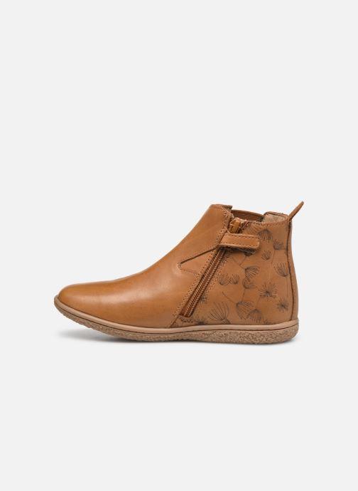 Bottines et boots Kickers Vermillon Marron vue face