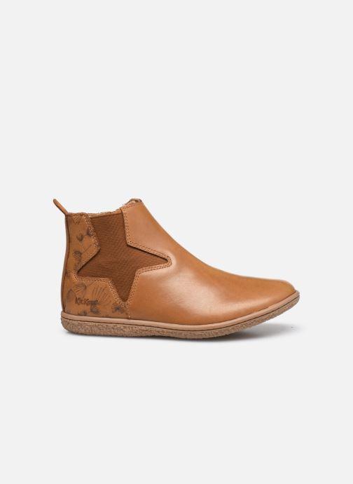 Stiefeletten & Boots Kickers Vermillon braun ansicht von hinten