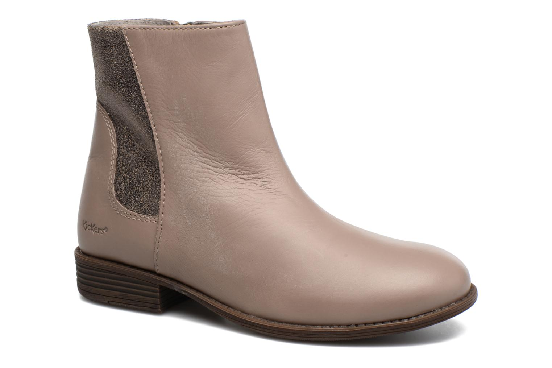 Bottines et boots Kickers Rusty Beige vue détail/paire