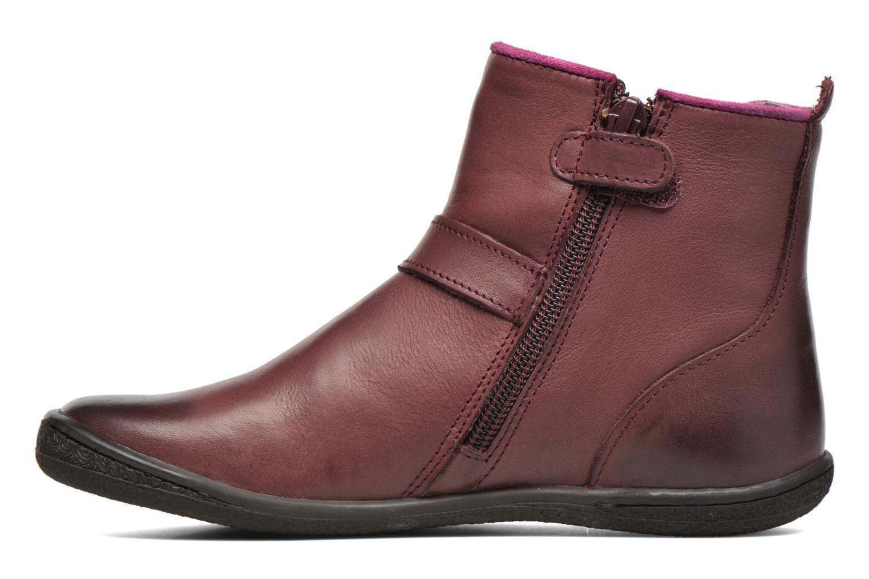 Bottines et boots Kickers Cadmium Bordeaux vue face