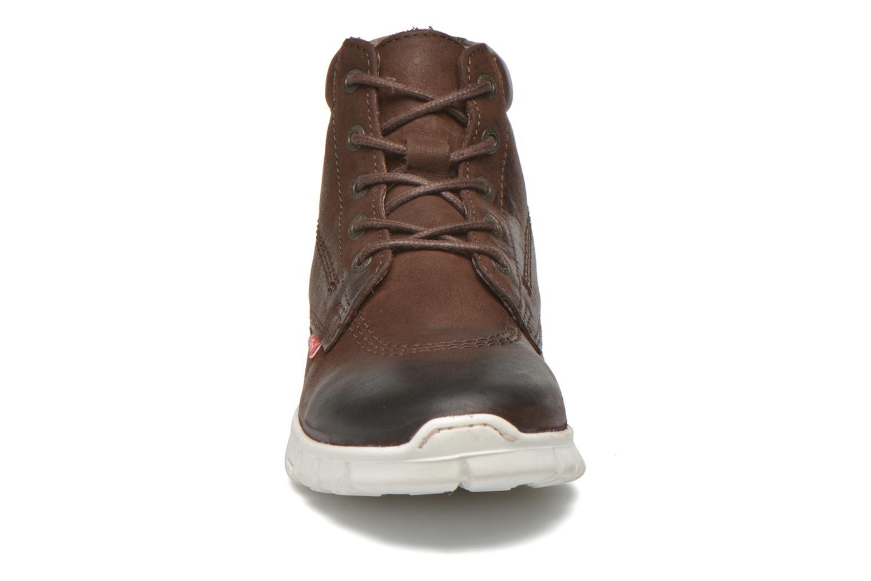 Chaussures à lacets Kickers Marallye Marron vue portées chaussures
