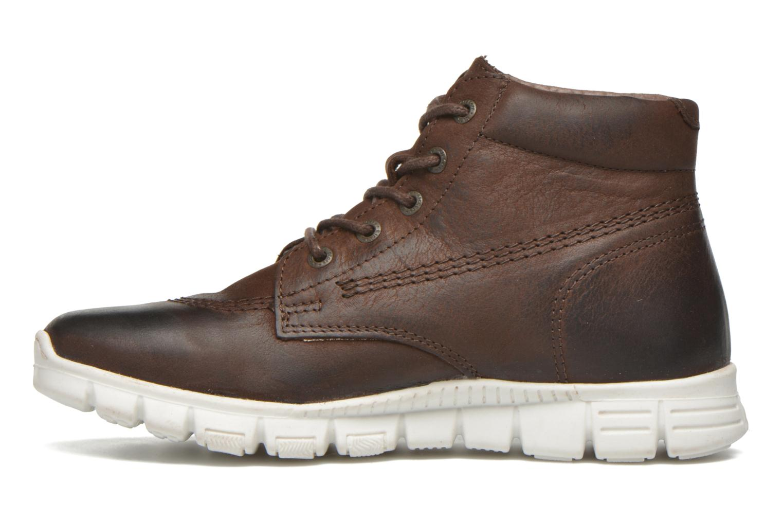 Chaussures à lacets Kickers Marallye Marron vue face