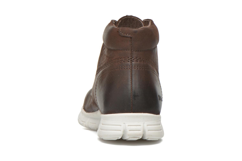 Chaussures à lacets Kickers Marallye Marron vue droite