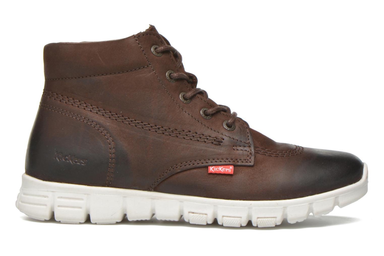 Chaussures à lacets Kickers Marallye Marron vue derrière