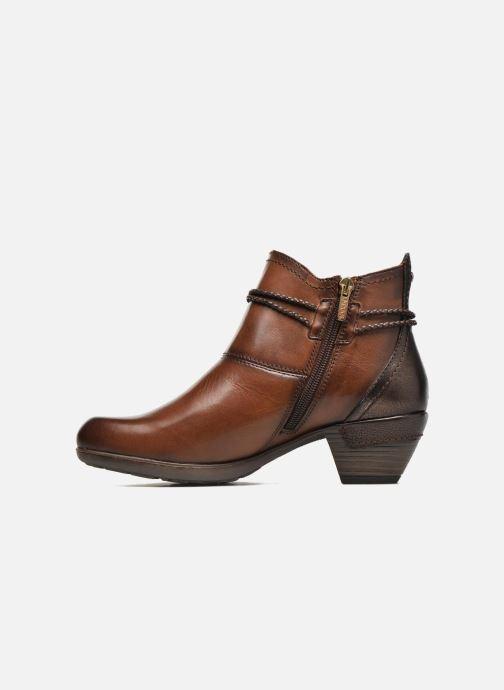 Bottines et boots Pikolinos Rotterdam 902-8775 Marron vue face