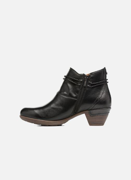Bottines et boots Pikolinos Rotterdam 902-8775 Noir vue face