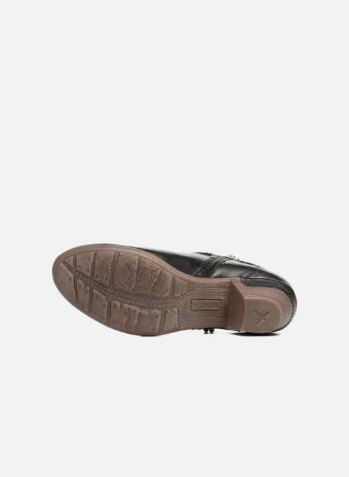 Bottines et boots Pikolinos Rotterdam 902-8775 Noir vue haut