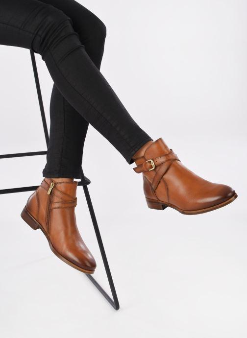 Bottines et boots Pikolinos ROYAL W4D-8614 Marron vue bas / vue portée sac