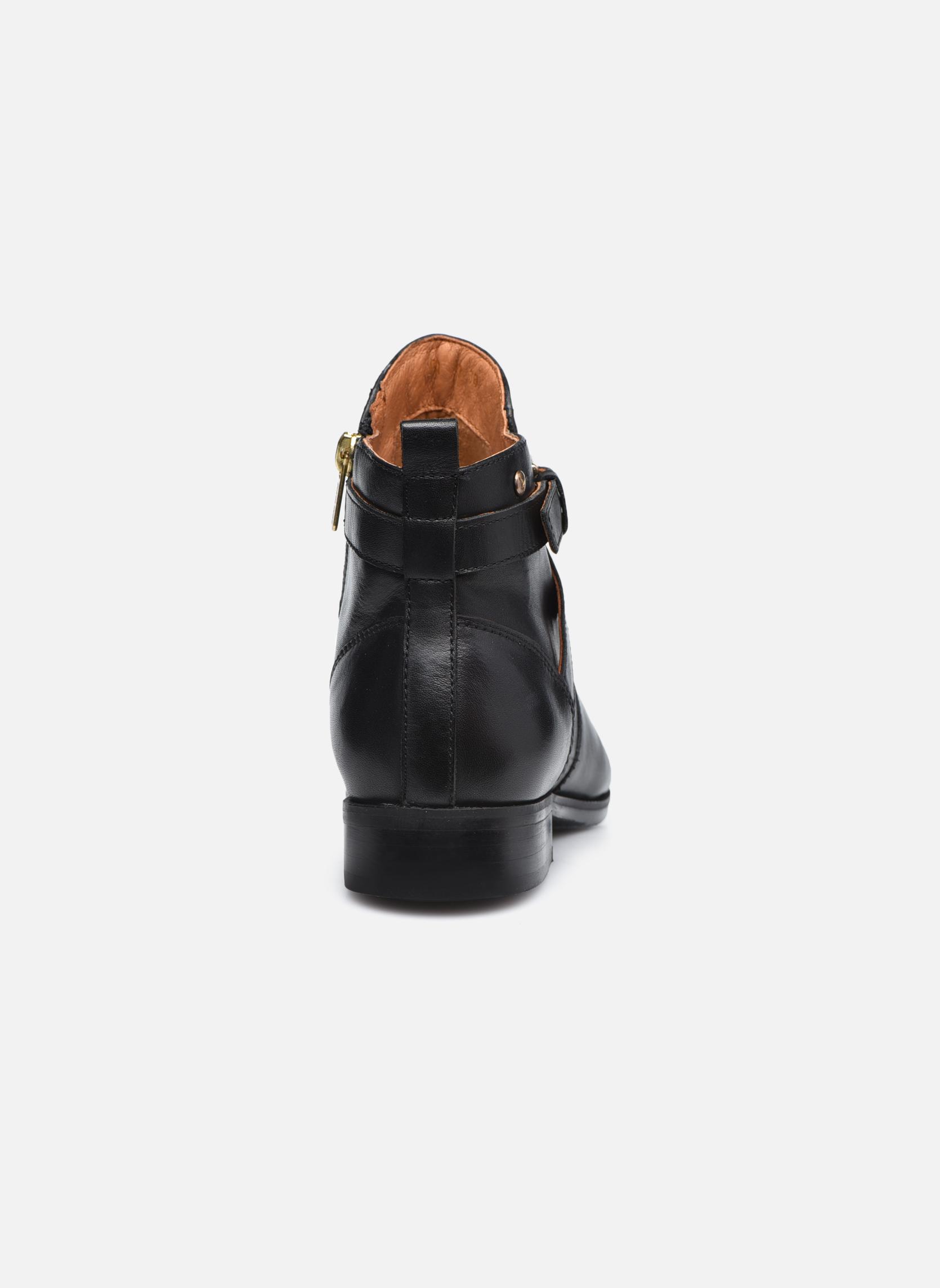 Bottines et boots Pikolinos ROYAL W4D-8614 Noir vue droite