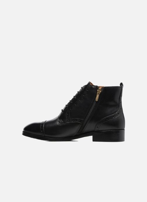 Bottines et boots Pikolinos Royal W4D-8717 Noir vue face