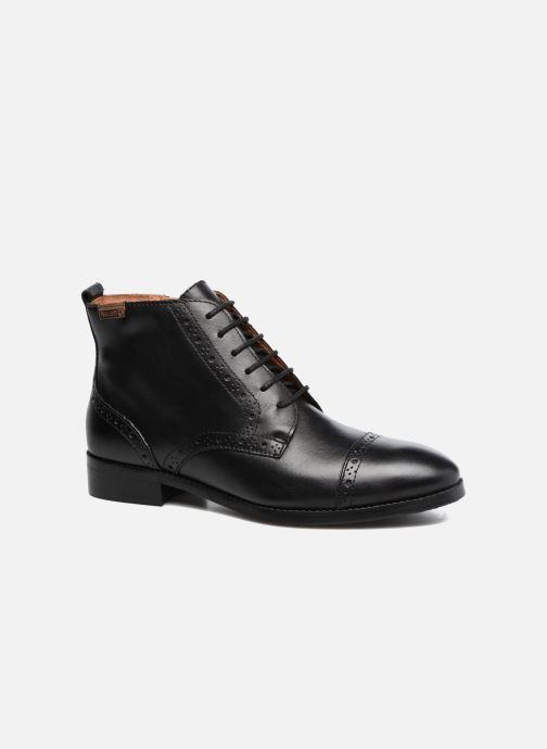 Boots en enkellaarsjes Pikolinos Royal W4D-8717 Zwart detail