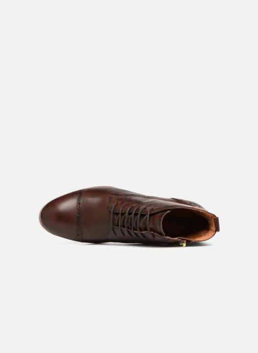 Boots en enkellaarsjes Pikolinos Royal W4D-8717 Bruin links