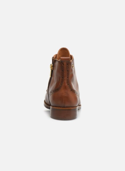 Ankle boots Pikolinos Royal W4D-8717 Brown view from the right