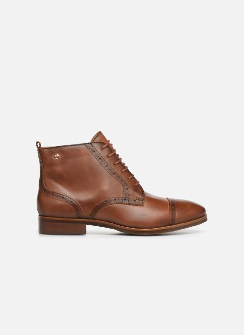 Ankle boots Pikolinos Royal W4D-8717 Brown back view