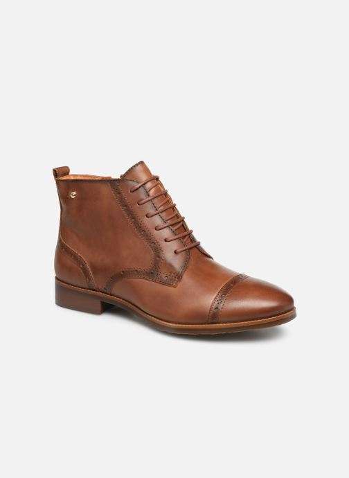 Ankle boots Pikolinos Royal W4D-8717 Brown detailed view/ Pair view