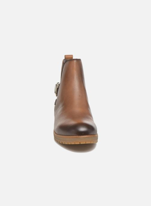 Bottines et boots Pikolinos SANTANDER W4J-8781 Marron vue portées chaussures