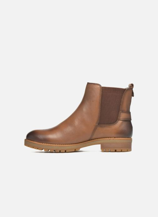 Ankle boots Pikolinos SANTANDER W4J-8781 Brown front view