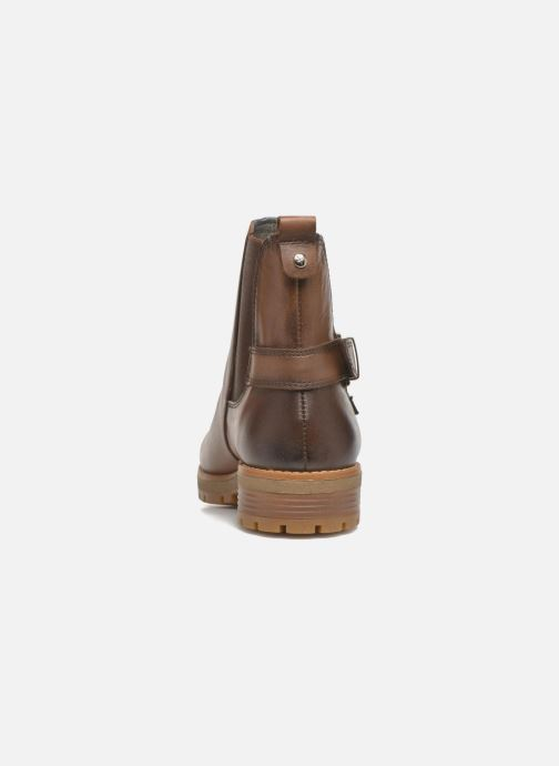 Ankle boots Pikolinos SANTANDER W4J-8781 Brown view from the right
