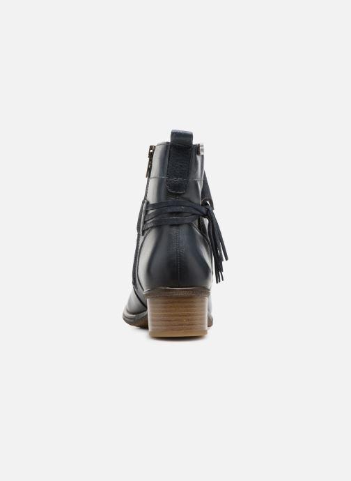 Boots en enkellaarsjes Pikolinos Zaragoza W9H-8800 Blauw rechts