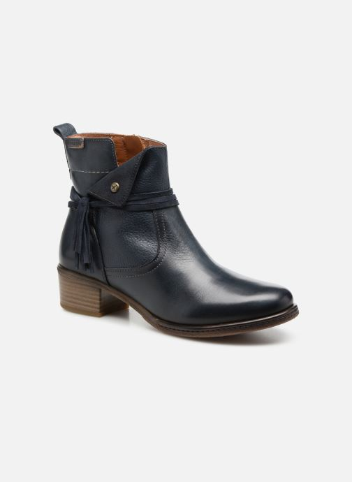 Boots en enkellaarsjes Pikolinos Zaragoza W9H-8800 Blauw detail