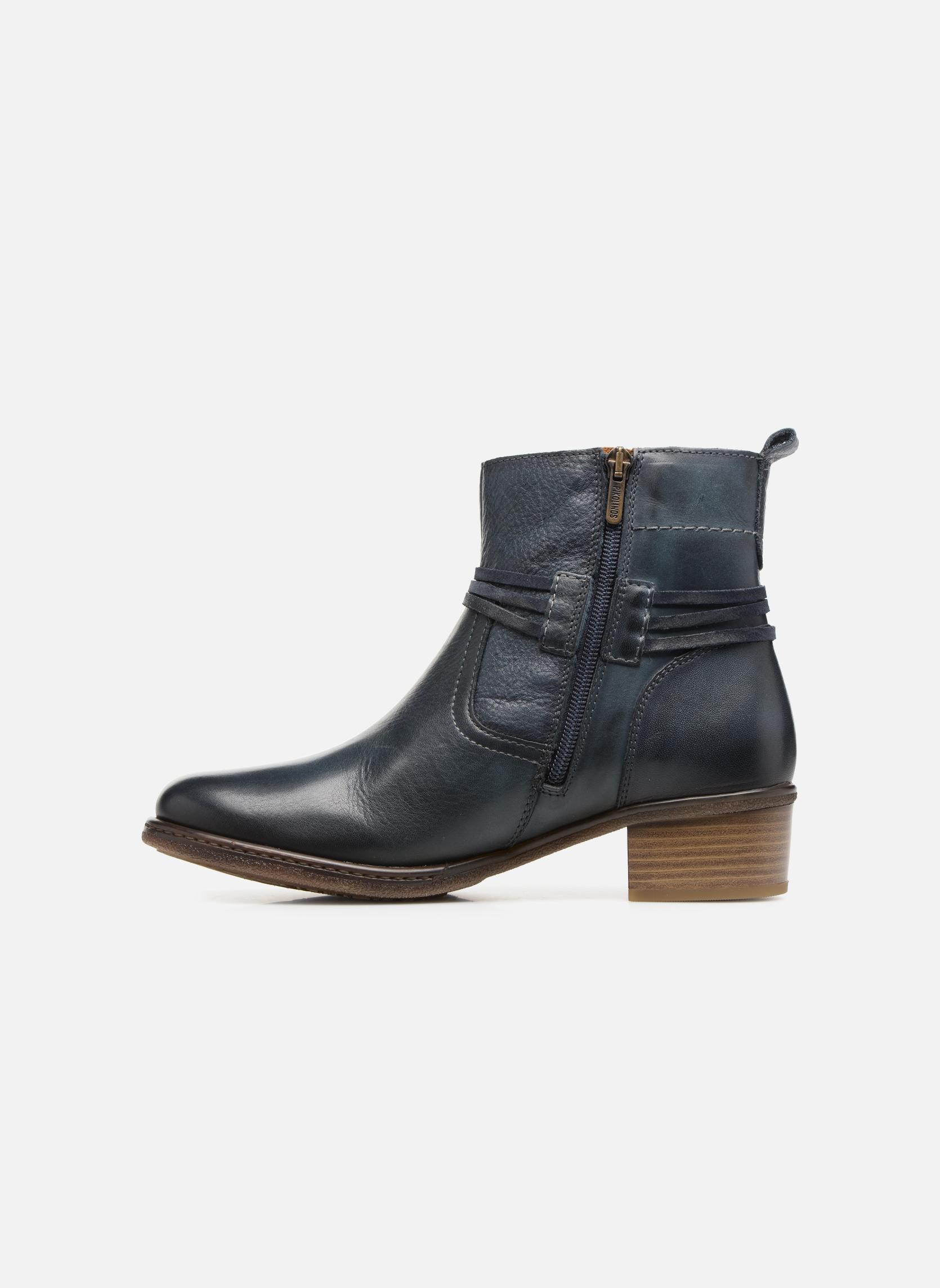 Bottines et boots Pikolinos Zaragoza W9H-8800 Bleu vue face