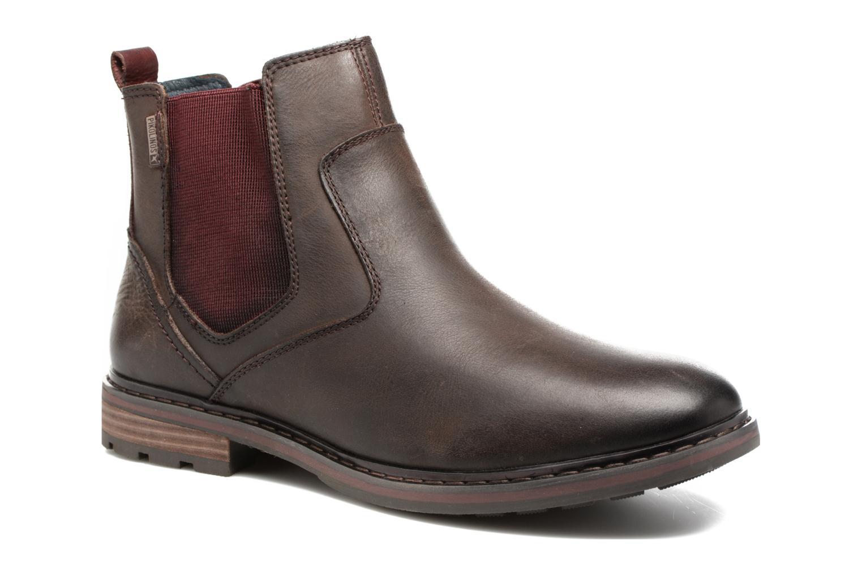 Bottines et boots Pikolinos CACERES M9E-8094SP Marron vue détail/paire
