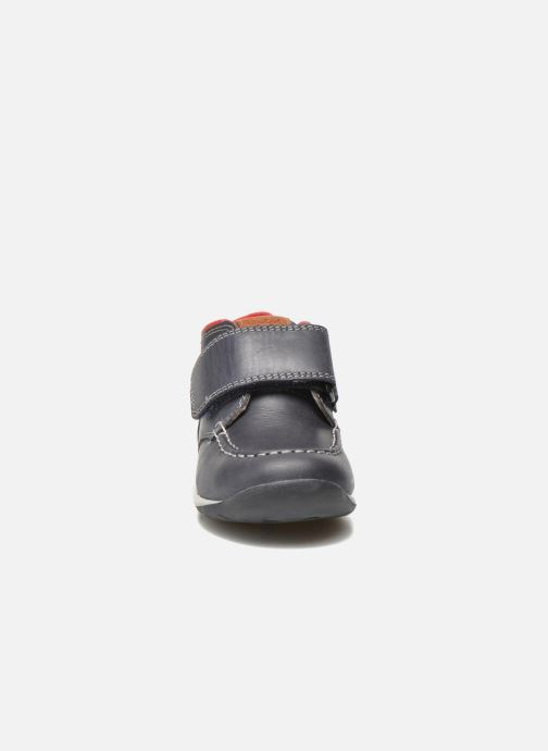 Chaussures à scratch Geox B Each B. B B640BB Bleu vue portées chaussures