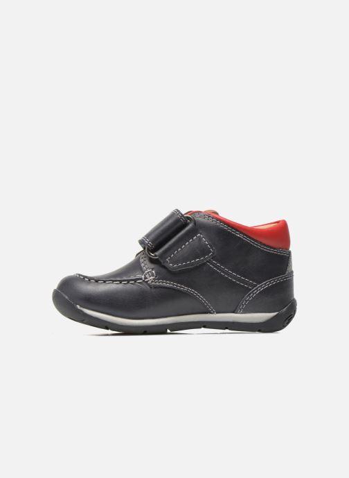 Zapatos con velcro Geox B Each B. B B640BB Azul vista de frente