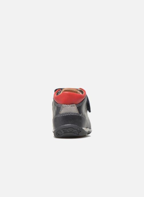 Zapatos con velcro Geox B Each B. B B640BB Azul vista lateral derecha