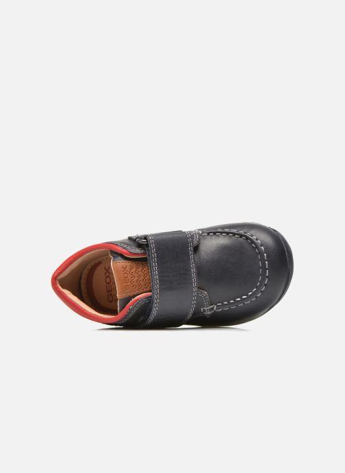Zapatos con velcro Geox B Each B. B B640BB Azul vista lateral izquierda