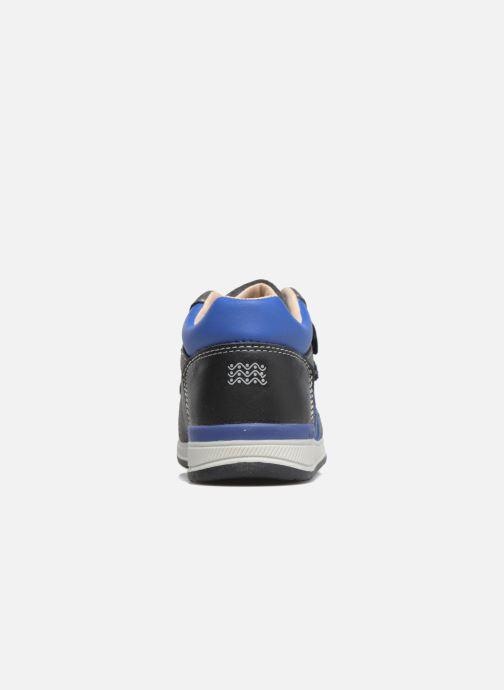 Baskets Geox B Rishon B. A B640RA Bleu vue droite