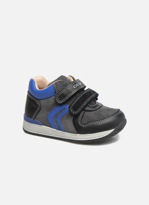 Baskets Geox B Rishon B. A B640RA Bleu vue détail/paire